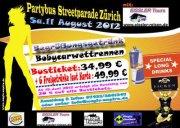 Partybus zur Streetparade 11. August 2012