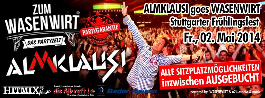 Almklausi goes Wasen - Special effects by SK audio UG